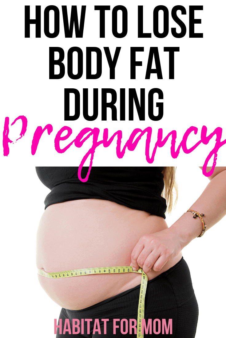 How to Lose Body Fat During Pregnancy – Habitat for Mom