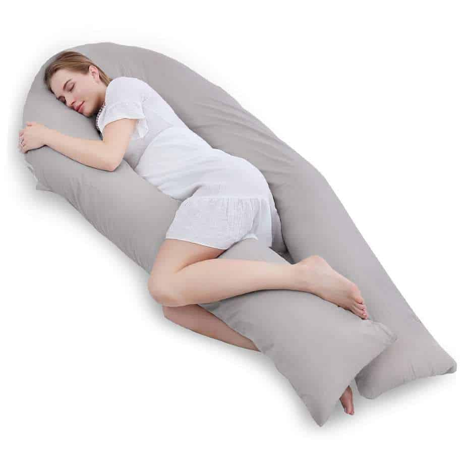 best pregnancy pillows for back  hip pain the top 7