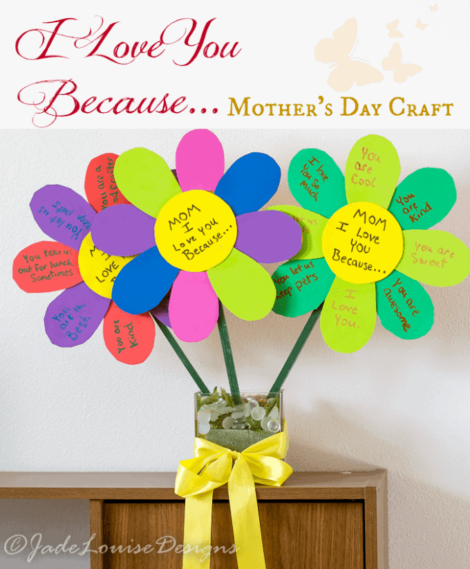 27 easy mother u0026 39 s day crafts for kids to make