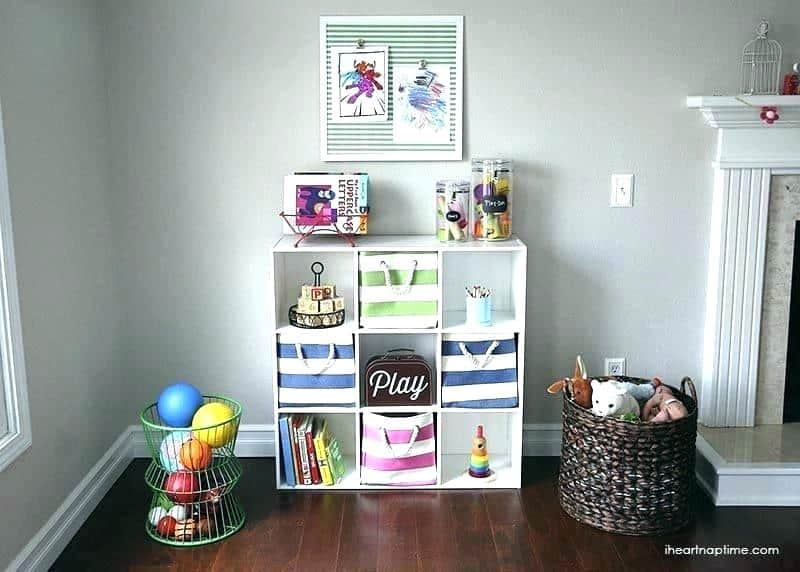 12 genius toy organization ideas for the living room